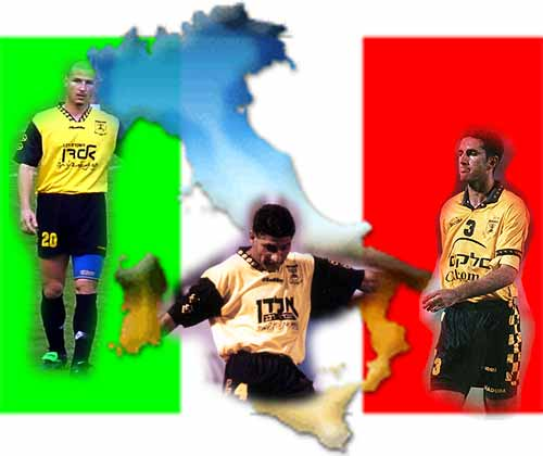 [Some players involved in Beitar's Italian strike]